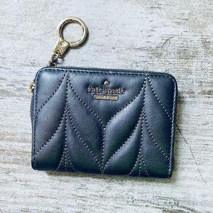 Lowest price! Kate Spade GUNMETAL leather wallet🤗